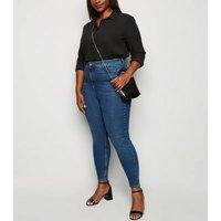 Curves Black Long Sleeve Shirt New Look