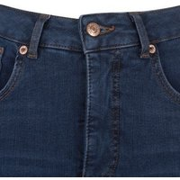Navy Contour Super Skinny Jeans New Look