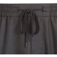 Dark Grey Dogtooth Trousers New Look