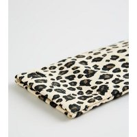 Brown Leopard Print Sunglasses Case New Look