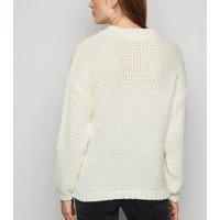 Carpe Diem Cream Chunky Knit Jumper New Look