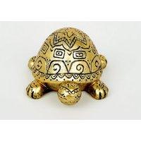 Gold Mandala Mini Turtle Ornament New Look