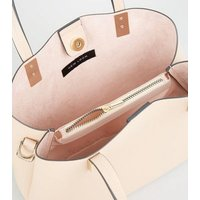 Pale Pink Mini Tote Bag New Look