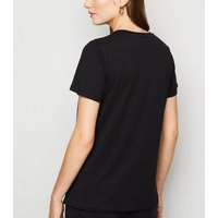 Black Sunflowers Van Gogh Painting T-Shirt New Look