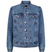 Pale Blue Rinse Wash Denim Jacket New Look