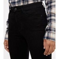 Black Super Soft Super Skinny India Jeans New Look