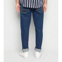 Men's Blue Rinse Wash Original Fit Jeans New Look