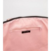 Pale Pink Sports Holdall Bag New Look