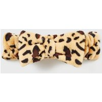 Multicoloured Leopard Print Beauty Headband New Look