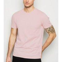 Pink Crew Neck T-Shirt New Look