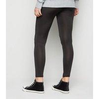 Maternity Black Jersey Leggings New Look