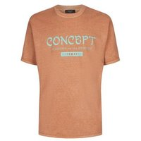 Rust Concept Slogan Oversized T-Shirt New Look