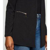 Mela Black Textured Light Jacket New Look