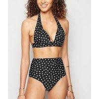 Black Spot 'Lift & Shape' Push Up Triangle Bikini Top New Look