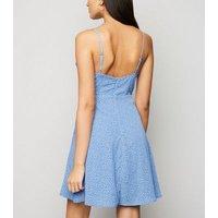 Blue-Vanilla-Bright-Blue-Floral-Wrap-Dress-New-Look