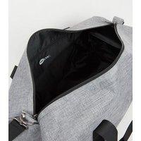 Mi-Pac Grey Crosshatch Duffle Bag New Look
