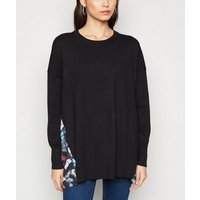 Apricot Black Butterfly Back Print Jumper New Look