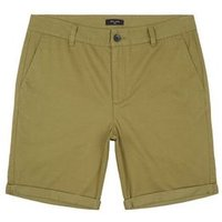Olive Chino Cotton Shorts New Look