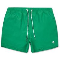 Green Circle Embroidered Swim Shorts New Look