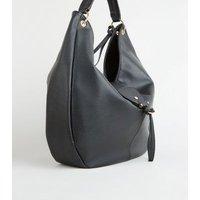 Black Oversized Slouch Bag New Look Vegan