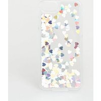 Silver Holographic Heart Case for iPhone 6/6s/7/8 New Look