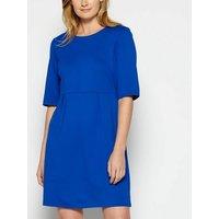 StylistPick Bright Blue Tie Back Dress New Look