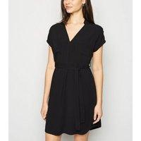 Black Tunic Mini Dress New Look