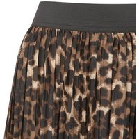JDY Brown Leopard Print Midi Skirt New Look