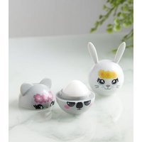2 Pack Purple Scented Animal Lip Balm Set New Look