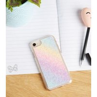 Multicoloured Glitter Case for iPhone 6/6s/7/8 New Look