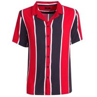 Red Stripe Short Sleeve Shirt New Look
