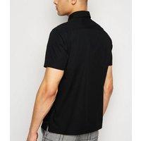 Black Short Sleeve Utility Shirt New Look