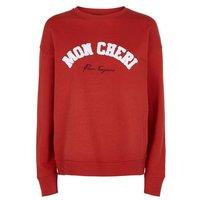 Red Mon Cheri Towelling Slogan Sweatshirt New Look