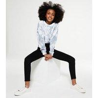 Girls Black Super Skinny High Waist Jeans New Look