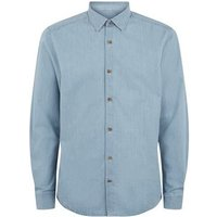 Only & Sons Pale Blue Long Sleeve Shirt New Look