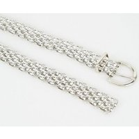 Silver Chain Waist Belt New Look