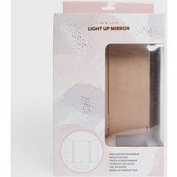 Rose Gold Light Up Vanity Mirror New Look