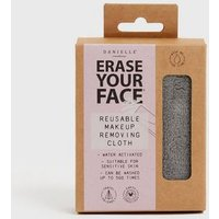 Pale Grey Erase Your Face Make-Up Remover Towel New Look