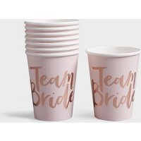 Ginger Ray Rose Gold Team Bride Cups New Look