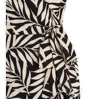 Black-Tropical-Palm-Print-Wrap-Midi-Dress-New-Look