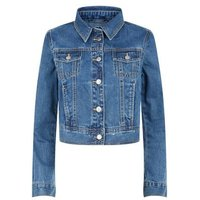 Urban Bliss Blue Denim Jacket New Look