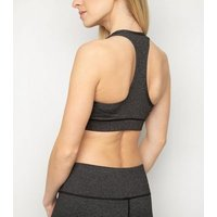 Sculpt Black Super Soft Sports Bra New Look