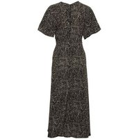 AX Paris Black Polka Dot Midi Dress New Look