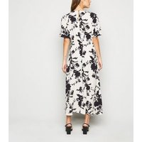 Off-White-Floral-Fitted-Waist-Midi-Dress-New-Look