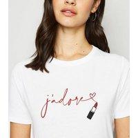 White-JAdore-Lipstick-Slogan-TShirt-New-Look