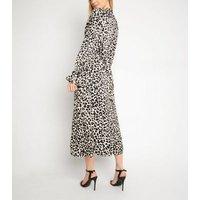 Another-Look-Black-Leopard-Print-Midi-Dress-New-Look