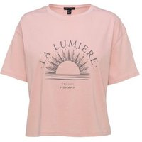 Pink Mystic Lumiere Boxy Slogan T-Shirt New Look