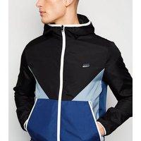 Jack & Jones Black Colour Block Jacket New Look