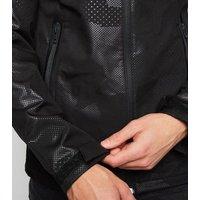 Jack & Jones Black Spot Camo Hooded Jacket New Look