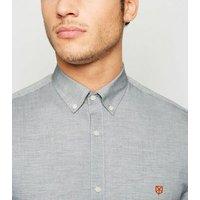 Jack & Jones Grey Marl Long Sleeve Shirt New Look
